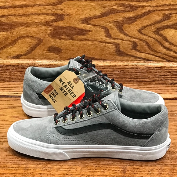 4c04f93e Vans Old Skool MTE Frost Gray True White Shoes* NWT